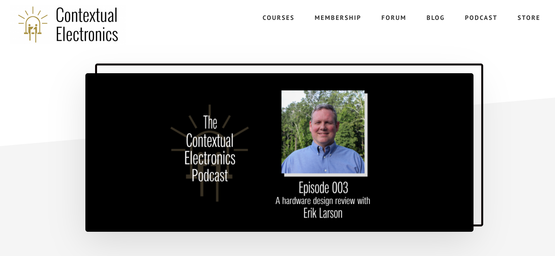 Contextual Electronics Podcast